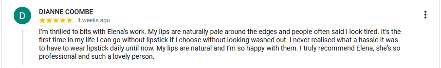 permanent makeup Perth